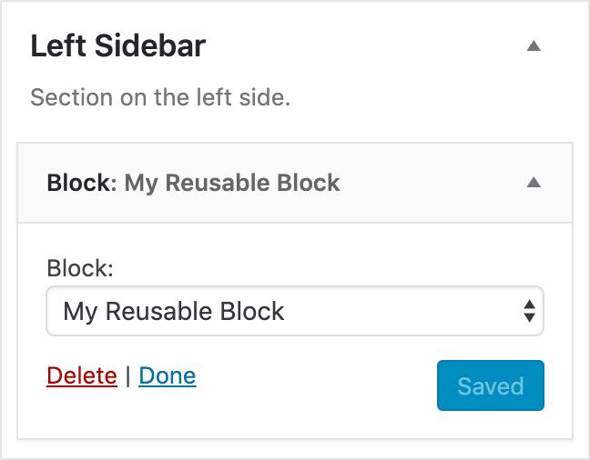 Block Widgetの公式スクリーンショット